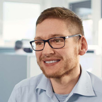 Timo Henrich, KUKA Robotics Project Management Office.